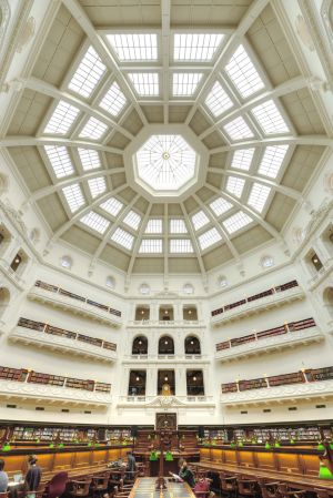 State Library, Melbourne 2015 - Inside