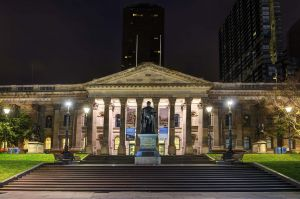 State Library, Melbourne 2015 - Outside