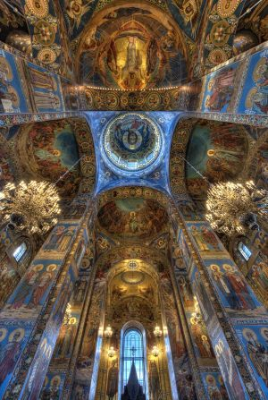 Church on Spilled Blood, St Petersburg 2012 - Inside