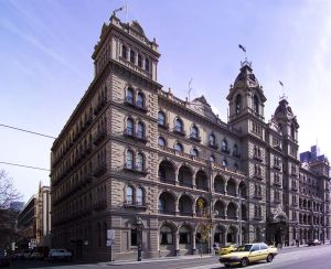 The Windsor Hotel, Melbourne 2011 - Outside