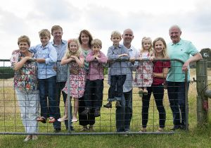 Family get together - at the farm gate