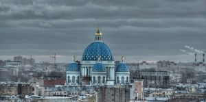 Trinity Cathedral, St Petersburg 2012