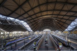 Southern Cross Station - Inside, Melbourne 2011