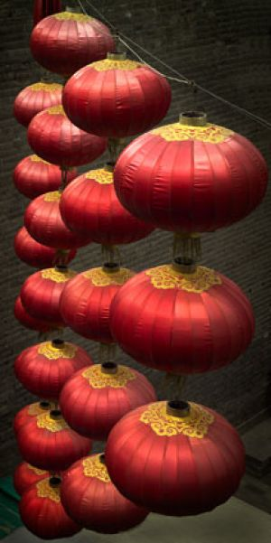 Lanterns, Xi'an, China 2006