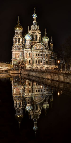 Exterior, Church on Spilled Blood, St Petersburg, Russia 2012