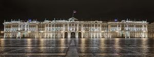 The Hermitage (Winter Palace) from Palace Square, St Petersburg, Russia 2012