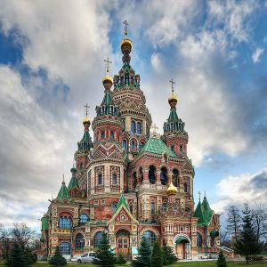 Russian Orthodox Cathedral, Peterhof, Russia 2012