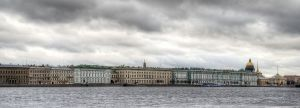 View Across the Neva River from Peter and Paul Fortress 2