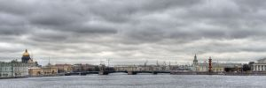View across the Neva River from Peter and Paul Fortress 3