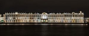 The Hermitage - Winter Palace - across the Neva River