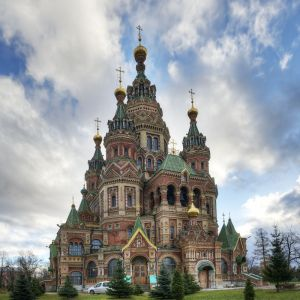 Peterhof - Russian Orthodox Cathedral