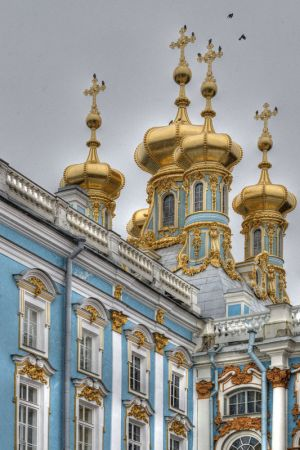 Trarskoe Selo - Catherine Palace - external 1