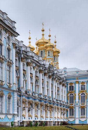 Trarskoe Selo - Catherine Palace - external 2